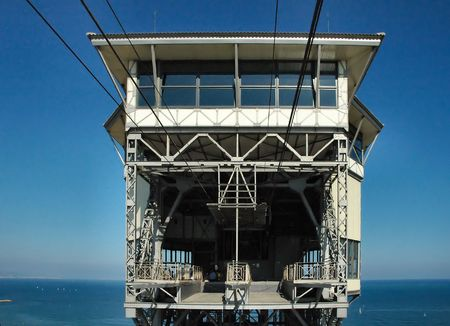 Ferry cable tower - Barcelona