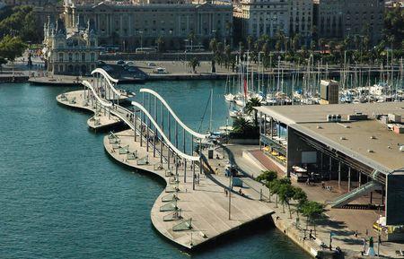 seaports: Marina of Barcelona