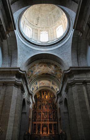 high altar: Church Stock Photo