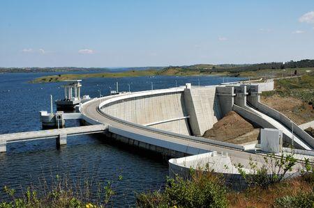 barrage: Barrage of Alqueva, Portugal