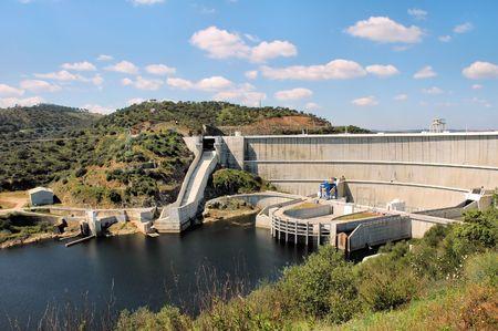 barrage: Barrage Stock Photo