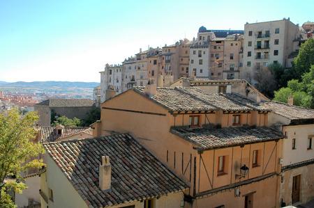 cuenca: Houses in the city of Cuenca, Spain