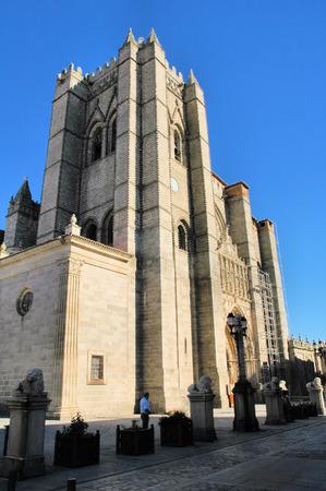 avila: Cathedral of Avila, Spain
