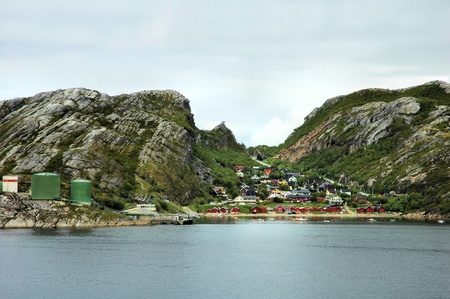 Small Norwegian town photo