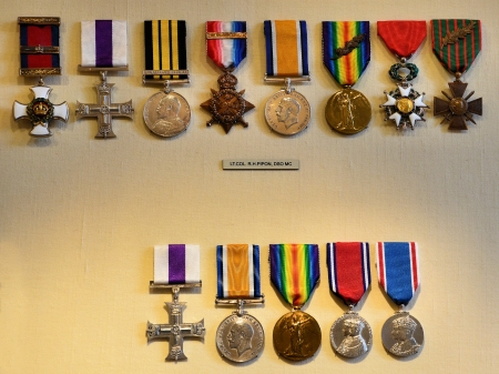 commend: Collection of medals representing the British commends Editorial