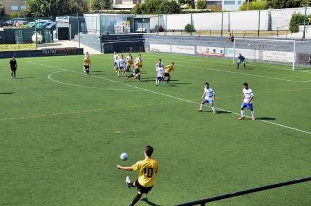 soccer match: Soccer game