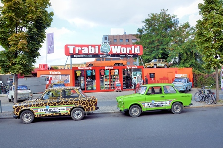 Trabant cars museum and shop in Berlin