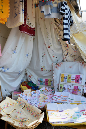 typical: Typical handicraft from Nazare in Portugal