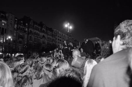 porto: Student parade in the city of Porto Editorial