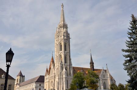 matthias: The famous Matthias church in Budapest Stock Photo