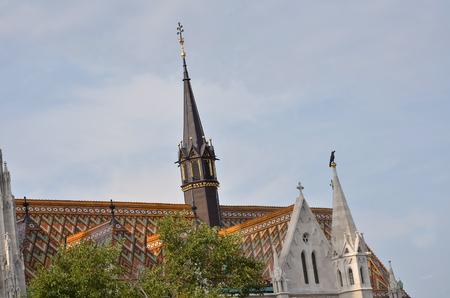 matthias church: The famous Matthias church in Budapest Stock Photo
