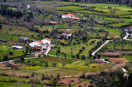 portugal agriculture: Rural landscape in Portugal