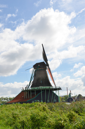 dutch: Typical Dutch windmill