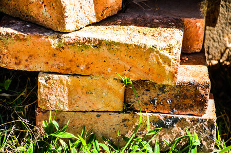 Mud Bricks Stock Photo - 71795286