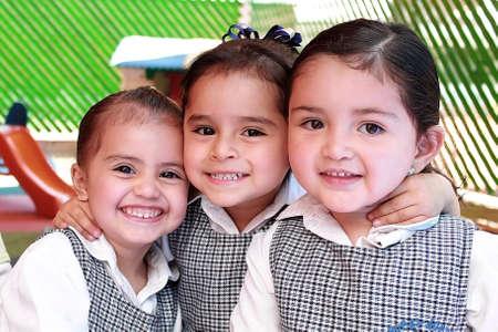 Kids in school  Banco de Imagens