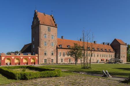 Backaskog castle in the northen region of skane,sweden