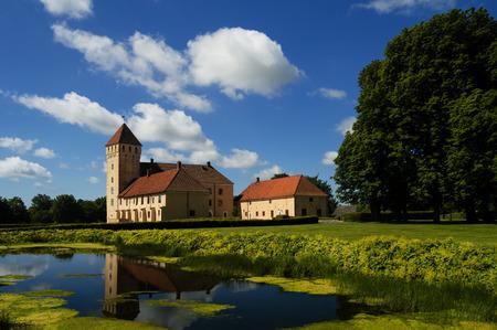 Tosterup slott i in southern Sweden.