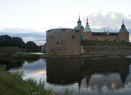 Medieval castle in kalmar smaland sweden Editorial