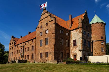 Skarhult slott is a castle in Eslov Municipality, Scania, in southern Sweden. Skarhult is one of Sweden�s best preserved renaissance castles.