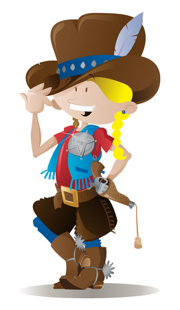 Little Sheriff Stock Vector - 7596042