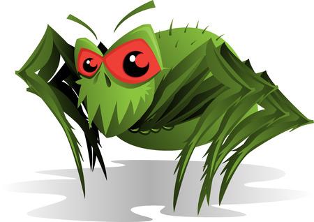 Horrible Spider Mite Vector