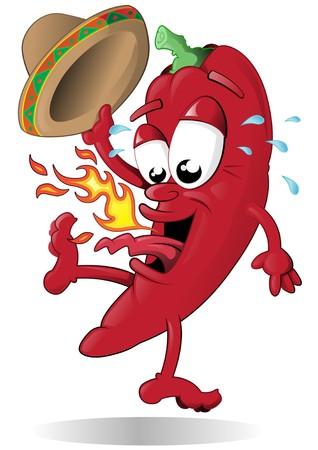 Ce Red Hot Chili Pepper saute parce qu'il est tout simplement trop chaud!