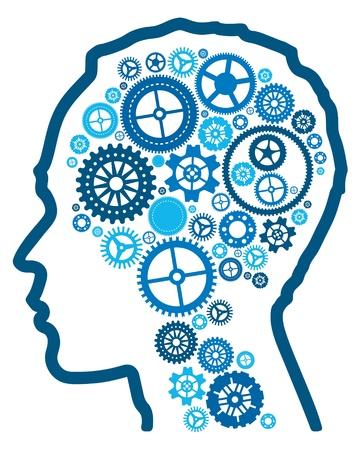 cognicion: resumen de la inteligencia cognitiva Vectores