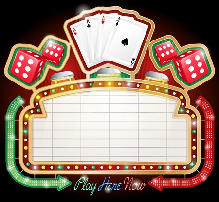 casinos: Casino Sign
