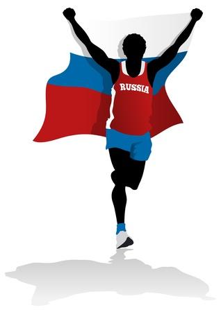 sportsperson: Russian Race Winner