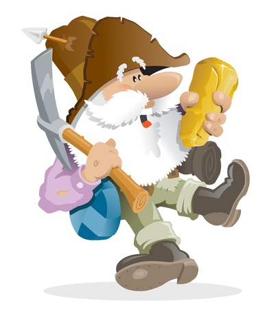gladness: Prospector Illustration
