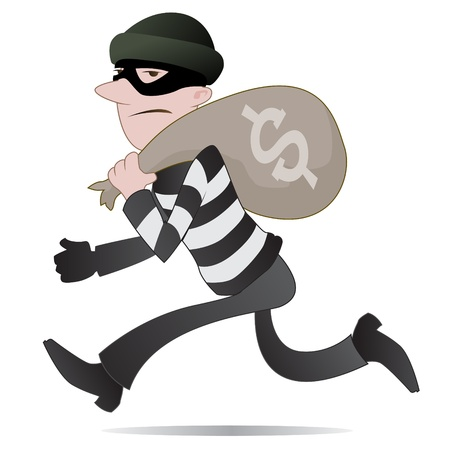 Thief Stock Vector - 14870640