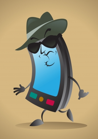 sinister: Sinister Cell Phone Character