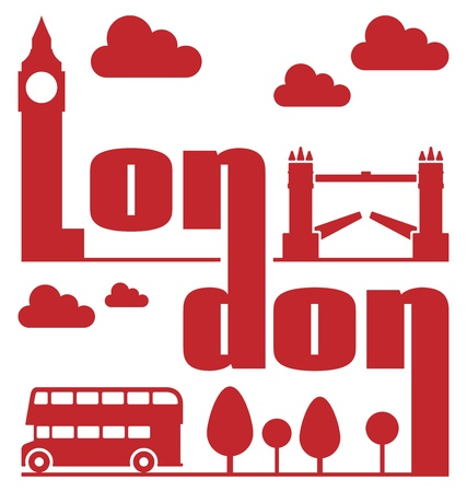 London Abstract Stock Vector - 16272087