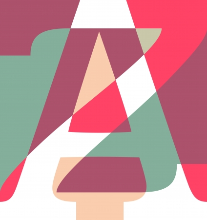 Abstract A to Z Stock Vector - 16272088
