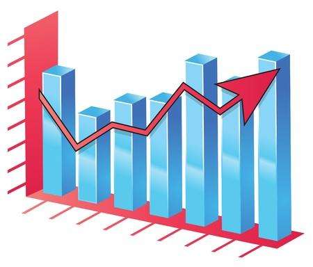 Bar Chart Stock Vector - 17970576