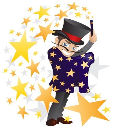 마법의: 마술사 일러스트