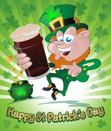 Happy St  Patrick s Day Stock Vector - 18169406