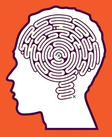 Puzzle Maze mózg