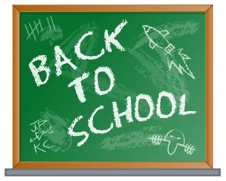 Back to School Blackboard Stock Vector - 18303097