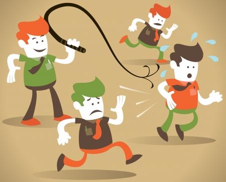 whip: Corporate Guy cracks the whip