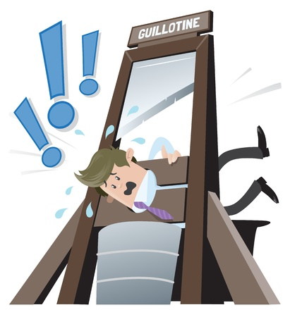 Business Buddy gets the Chop  Ilustracja