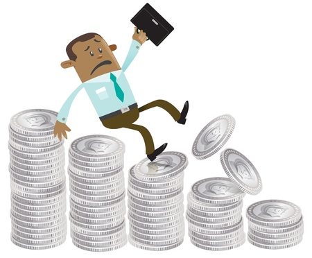 indian professional: Business Buddy falls down the money hill