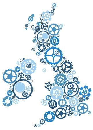 ireland map: United Kingdom of Cogs