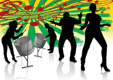 スチール ドラム カリプソ ストリート パーティー