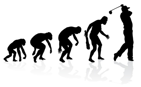 Evolution of a Golf Player