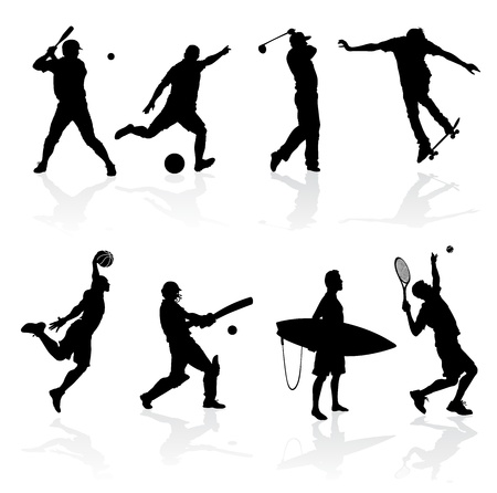 cricket: Sporting Silhouettes