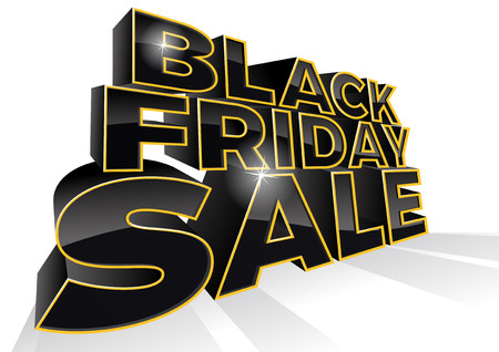 Black Friday is the day following Thanksgiving Day in the United States. This ultra dynamic 3D illustration is a great way to promote the sales on offer in the retail workplace.