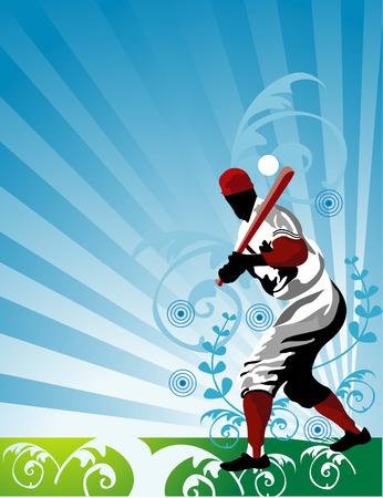 baseball vector Illusztráció