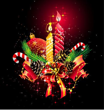 beautiful christmas vectors Stock Vector - 6013072