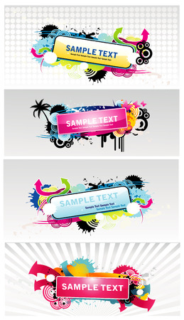 web banner Illustration